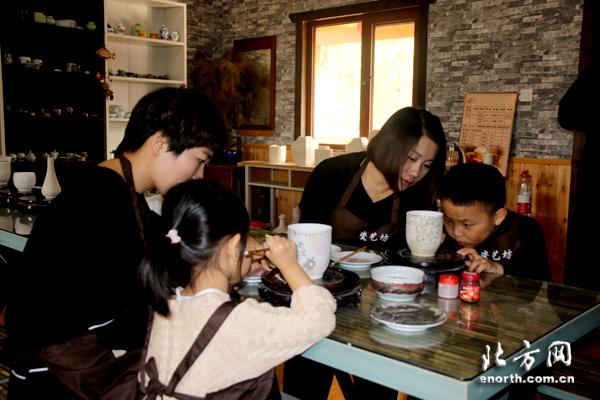 绿源生态文化休闲农庄工作人员田森表示,瓷艺文化属于中国文化中源图片