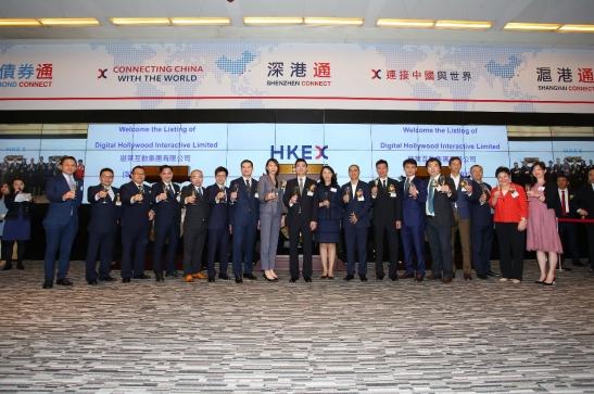 游莱互动香港联交所主板挂牌上市,首日股价涨7.9%