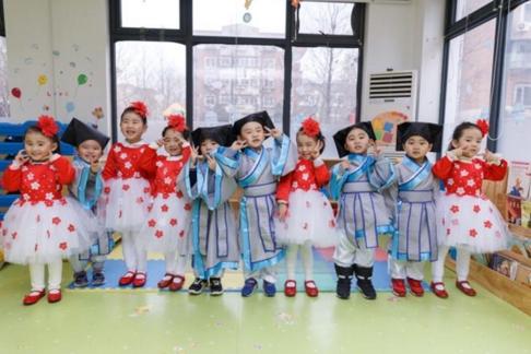 华宁幼儿园2018新年联欢会圆满结束