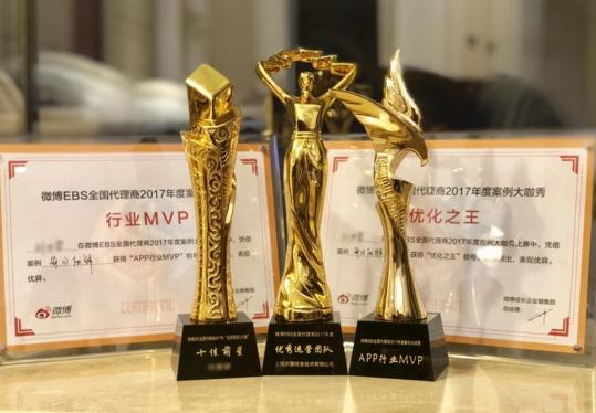 微博EBS2017案例大咖秀开赛,天擎天拓捧回多项大奖