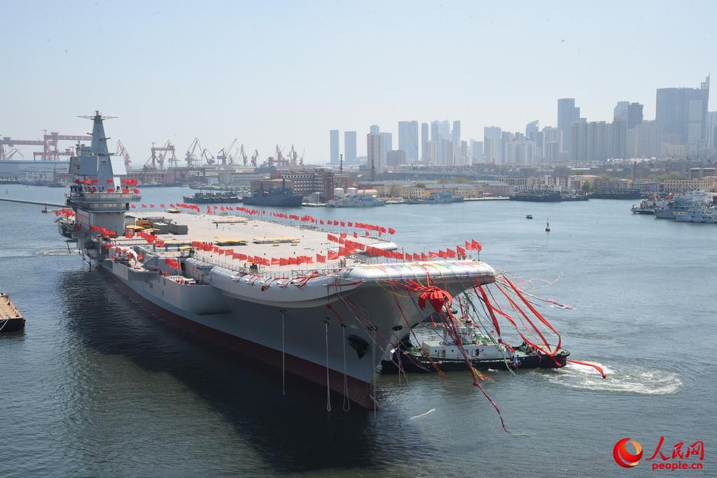 首艘国产航母近期海试 下半年有望交付海军_浙江大学竺可桢学院