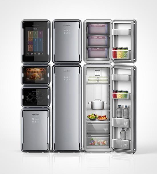 自带烤箱和净水器 这台冰箱真是强大了