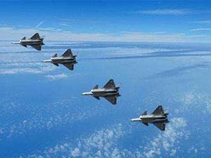 中国空军作战能力跃升 歼20开展海上实战训练