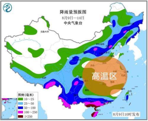 中东部高温雨水齐上阵 京津冀再迎暴雨天气