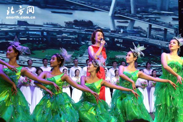 西青区庆祝改革开放40周年文艺