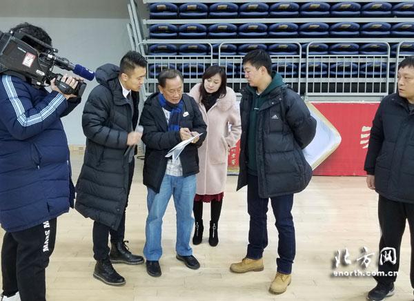 1月9日与赛事协办方天津市武清区体育局,中体场馆运营管理(天津)有限