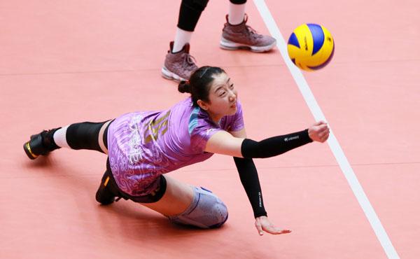 天津女排3-2打懵上海 四强对手北京江苏间产生