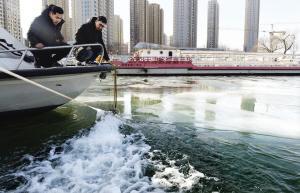 天寒地冻 海河游船去哪了