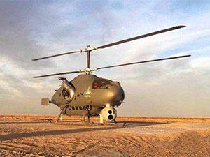 中国新款无人攻击直升机亮相 搭载两枚机载武器