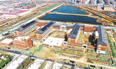 天津滨海新区第三老年养护院7月将完工
