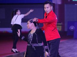 全国第十届残运会暨第七届特奥会轮椅舞蹈开赛 特殊的舞者演绎独特人生