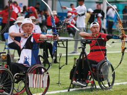 全国第十届残运会暨第七届特奥会射箭项目开赛 众多高手来津