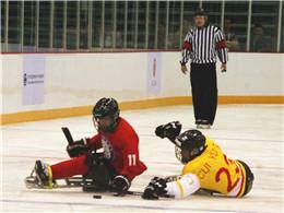 全国第十届残运会暨第七届特奥会冰球比赛落幕