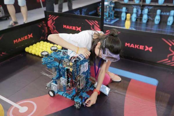 超热血!MakeX机器人挑战赛天津选拔赛冠军出炉