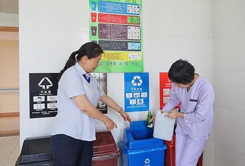 一种可全面分类的医院智能垃圾被服收集处理系统问世