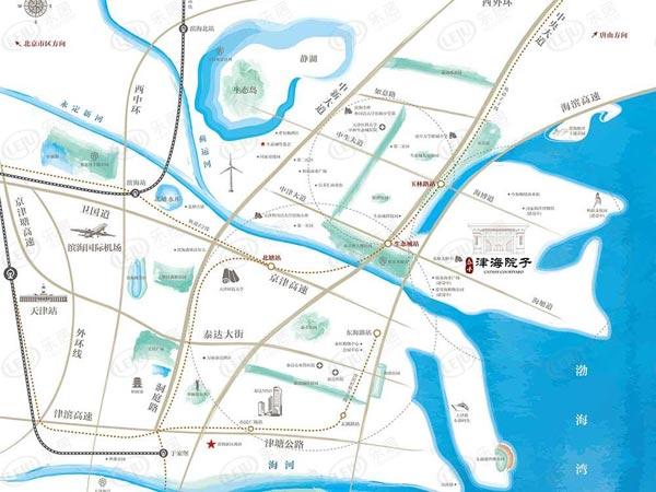 泰禾津海院子主推联排别墅和洋房