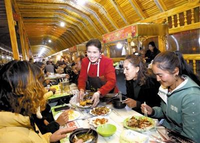 天津精准帮扶发展经济助力旅游业 乡村夜市带动就业脱贫