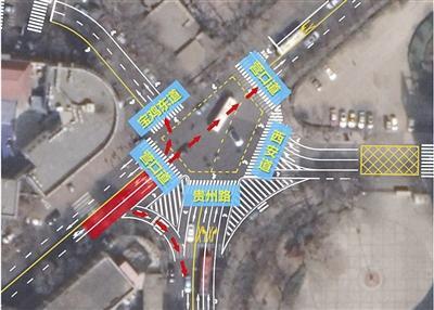 天津这个路口拟安装信号灯 向社会各界征求意见
