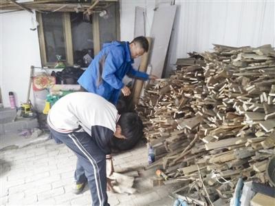 13岁冯红章:承担家务劳动 希望父亲康复