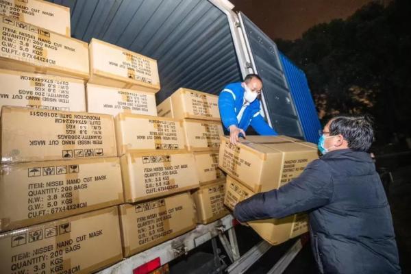 援助物资送到了!邮政、顺丰、京东、三通一达、百世、优速...迅速行动