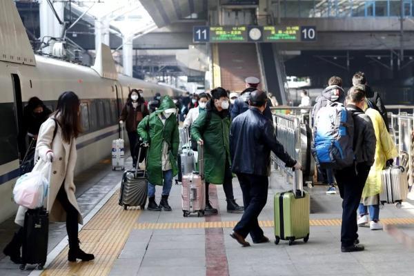 国铁集团强化八项措施 全力做好复工返程运输疫情防控