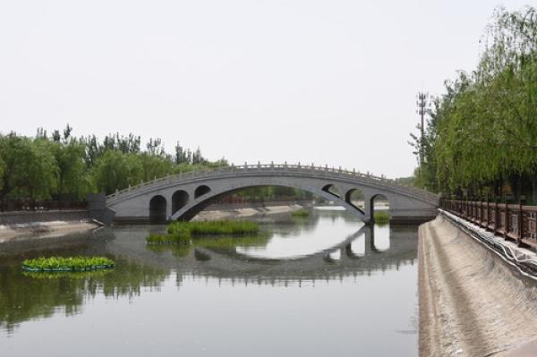 天津西青古运河畔新变化