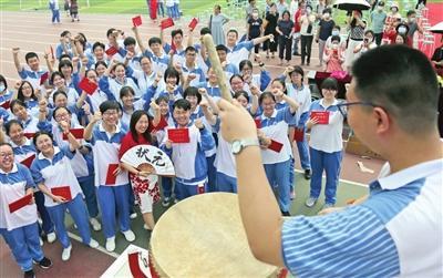 天津中学高三学子的最后一堂课:让信仰与梦想同行