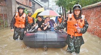 强降雨持续 抢险救灾有力开展(统筹做好疫情防控和防汛救灾工作