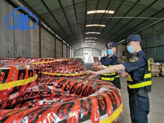 """""""龙腾行动2020""""成效显著 上半年天津海关查获涉嫌侵权货物"""