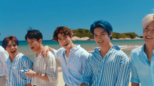 NCT127代言品牌,韩国自然乐园发布夏日蓝色补水精华新品-时尚呼吸-北方网