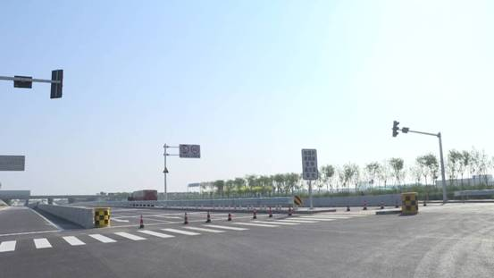 G104国道西青段改建工程正式完工顺利通车