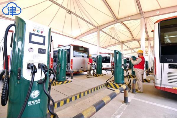 天津市年内实现新能源公交车全覆盖-新闻中心-北方网