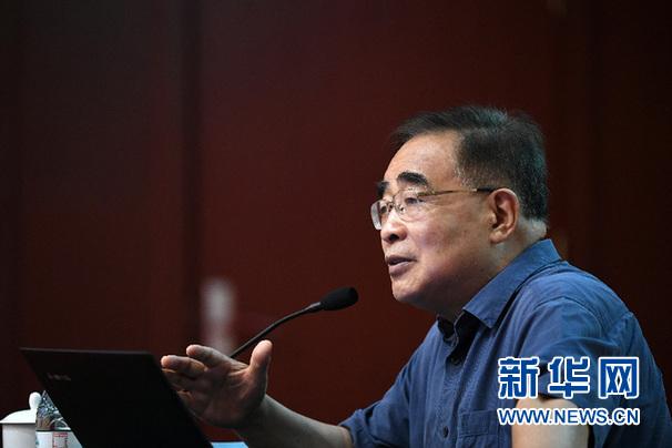 张伯礼院士为天津市科技工作者作报告