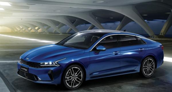 东风悦达起亚旗下全新旗舰轿车K5凯酷正式上市-汽车新地-北方网
