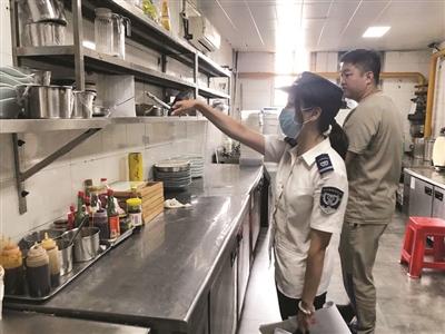 """滨海新区市场监管局开展""""随机查餐厅""""行动"""
