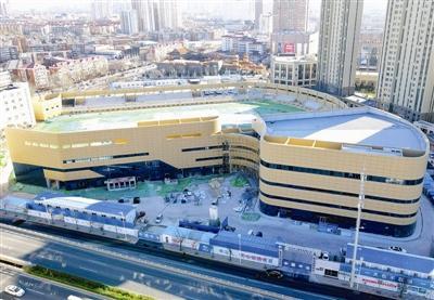承载河东人半世纪体育情缘 改扩建工程已完成70% 河东体育场