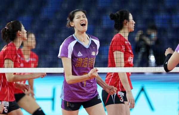 排协公布联赛最佳 朱婷MVP收割机 天津最大赢家