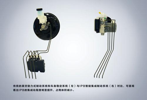 中国首款搭载博世IPB智能集成制动系统的新能源汽车