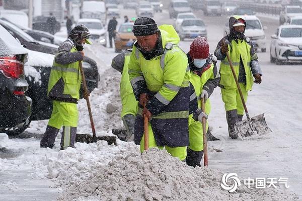 华北、东北等多地出现降雪、雨夹雪或雨转雪