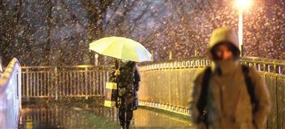 天津周前期雨雪大风降温 中后期气温再次回升