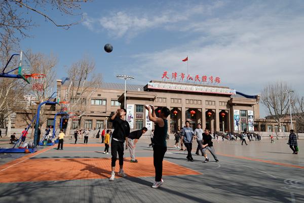 天津市将首次举办社区运动会 大力推动全民健身