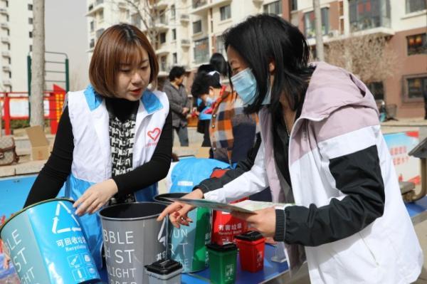 津南区:废物换绿植 倡导绿色环保生活