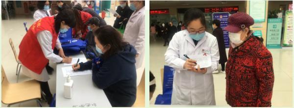 西青医院联合区疾控结防所开展结核病义诊活动