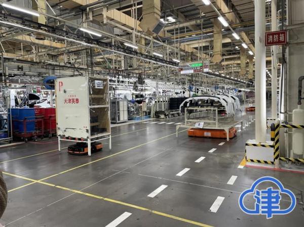 近千种零部件100%智能运输 一汽丰田智能工厂打造全流程智慧