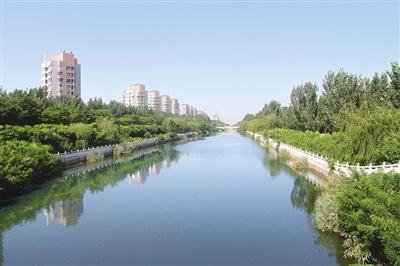 """东丽推进""""四水同治""""绘就河湖景观"""
