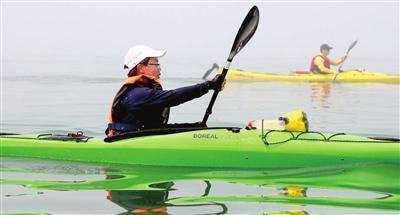 天津12岁少年成功横渡琼州海峡