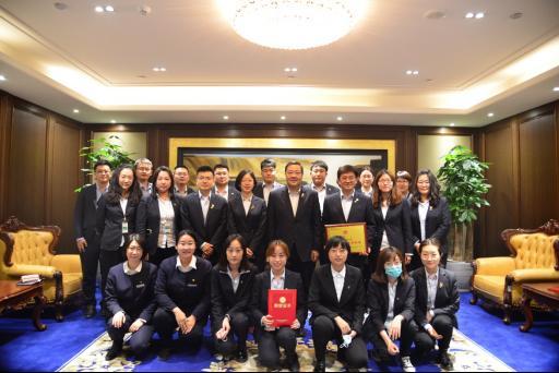 """中国人寿天津市分公司团委开展""""我与总经理室领导面对面""""座谈交"""
