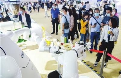 智能科技展22日起对社会公众开放 全场高科技 邀您来看看