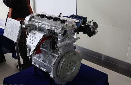 海马FP系列的2.0VVT发动机-海马S3谍照 参数曝光 首款自主SUV解析 高清图片