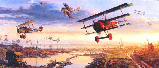 飞机发展史:从自由化身到成为战争武器